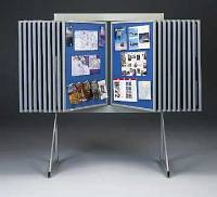 "20-Panel Loop Fabric Wall Display 40""W x 48""H (Model 80-U-20-LM)"