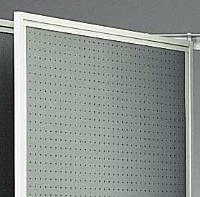"48""W x 72""H Painted Pegboard Panels (Part #166960)"